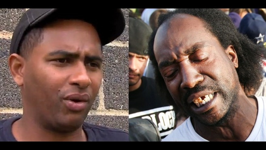 A photo composite of Angel Cordero (left) and Charles Ramsey (right), two men who helped rescue Amanda Berry in Cleveland, Ohio.