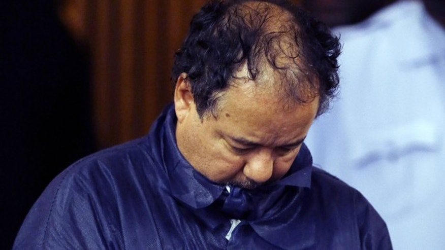 May 9, 2013: Ariel Castro appears in Cleveland Municipal court in Cleveland. Castro was charged with four counts of kidnapping and three counts of rape.