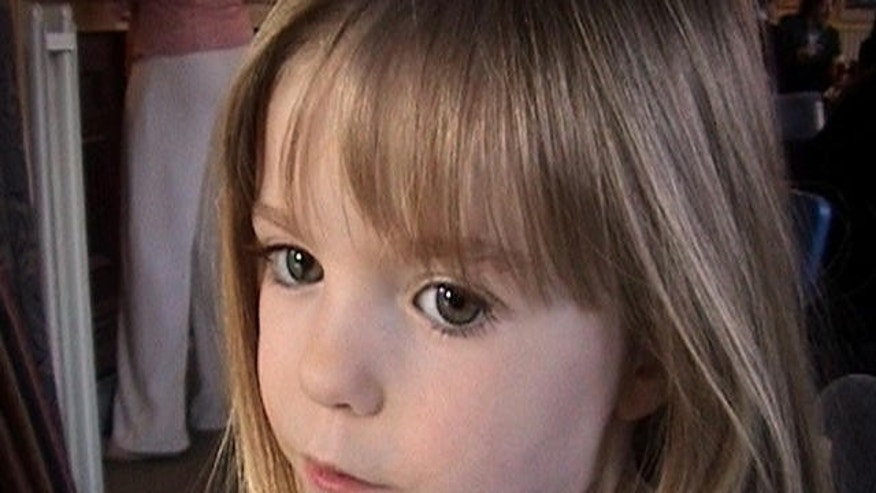 This March 2007 photo shows three-year-old British girl Madeleine McCann.
