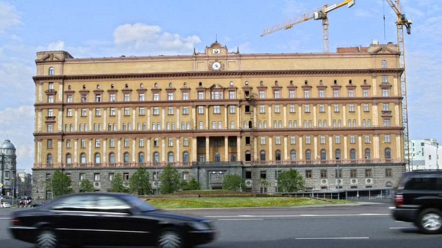May 14, 2013 - A view of the main building of the Russian Federal Security Services on Lubyanka Square in Moscow, Russia.