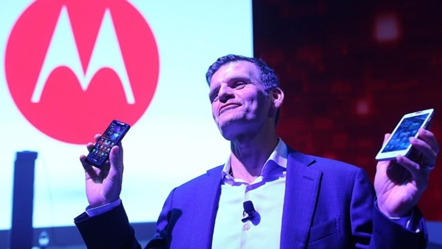 Dennis Woodside, chief executive officer of Motorola Mobility.