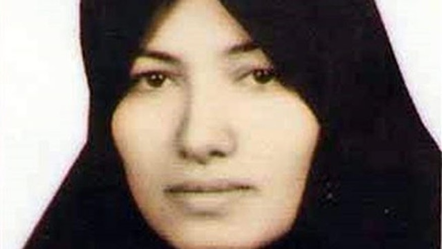 This undated image made available by Amnesty International in London shows Sakineh Mohammadi Ashtiani, a mother of two who had faced stoning to death in Iran on charges of adultery.