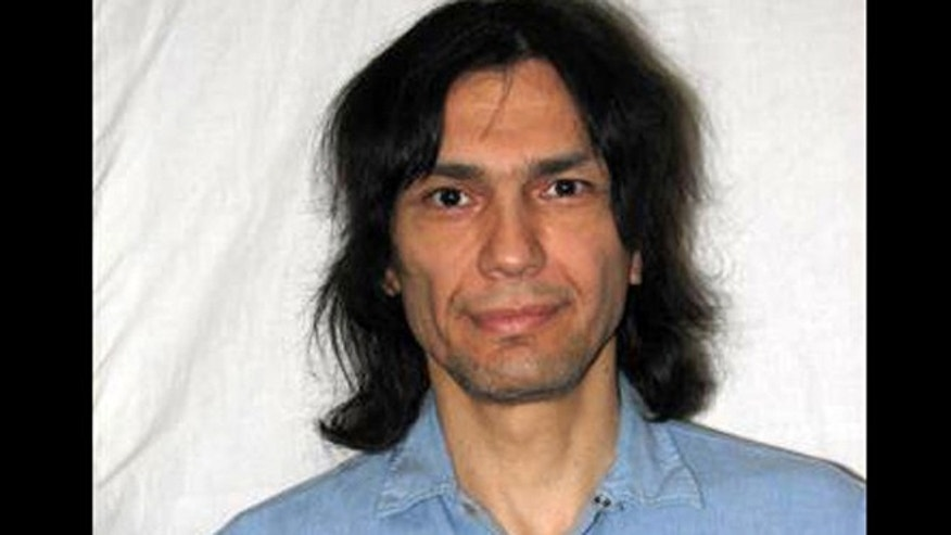 Convicted killer Richard Ramirez as seen in this June 15, 2007 photo in San Quentin State Prison in Marine County, Calif.