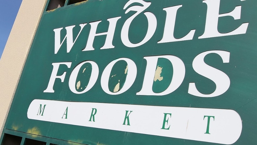 SAN RAFAEL, CA - FEBRUARY 17:  A sign is posted in front of a Whole Foods store February 17, 2010 in San Rafael, California. Whole Foods Market reported a 79 percent surge in first-quarter earnings with a profit of $49.7 million, or 32 cents a share, compared to $27.8 million, or 20 cents a share, one year ago.  (Photo by Justin Sullivan/Getty Images)