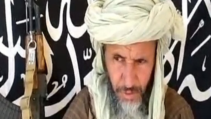 """One of the leaders of Al-Qaeda in the Islamic Maghreb (AQIM), Abdelhamid Abu Zeid, in an image released on December 25, 2012 by Sahara Media. G8 leaders have agreed to curb the payment of ransoms for hostages kidnapped by """"terrorists"""", British Prime Minister David Cameron's office said Tuesday."""
