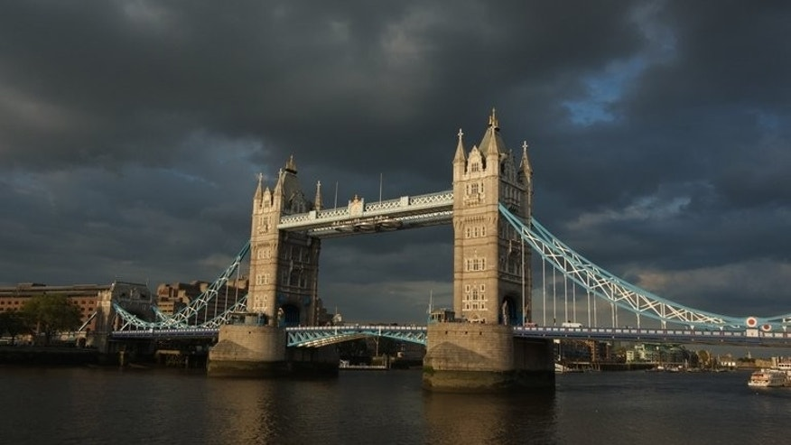 A sunset over Tower bridge in London on June 19, 2012. Chinese conglomerate Wanda Group will invest nearly $1.6 billion to acquire a British yacht maker and build London's tallest residential towers, state media reported Wednesday.