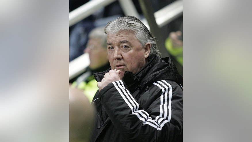 Joe Kinnear watches Newcastle play Hull City at St James' Park in January 2009. His reappiontment to the club was met with disbelief by many on Tyneside, who saw his return undermining Alan Pardew's position and ill-advised given that Kinnear's tenure in 2008/9 preceded relegation from the top flight.