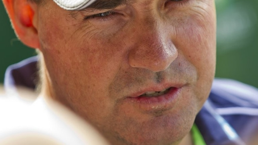Australia's national cricket team coach, Mickey Arthur, pictured in Perth, on March 26, 2013. Australia's Ashes campaign with England was in turmoil on Monday after Arthur was sensationally sacked, according to a report and sources.