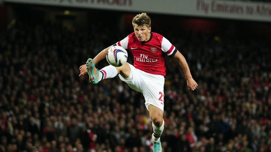 Andrey Arshavin plays for Arsenal against Coventry at the Emirates last September. The former Russian captain Andrei Arshavin is expected Monday to seal his return to Zenit Saint Petersburg, the club that launched his career, after a fallow half decade at Arsenal.