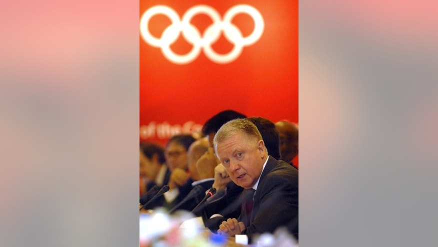 Honorary International Olympic Committee (IOC) member Hein Verbruggen, pictured during an IOC meeting in Beijing, on April 1, 2008. British Cycling president Brian Cookson says he would expect Verbruggen to testify in any future inquiry to be held into the sport's murky doping past.