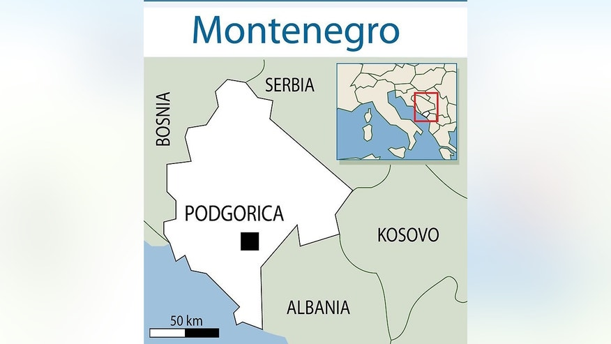 Map locating Podgorica in Montenegro. Eighteen Romanians died and 28 others were injured when their bus crashed in Montenegro in one of the deadliest road accidents the tiny Adriatic republic has seen, police told AFP.