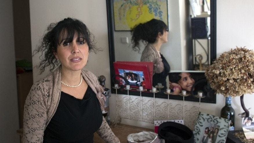 Nathalie Benhaim at her Jerusalem home on January 13, 2013. For her, Orthodox Judaism's rules of modesty have never been synonymous with austerity.