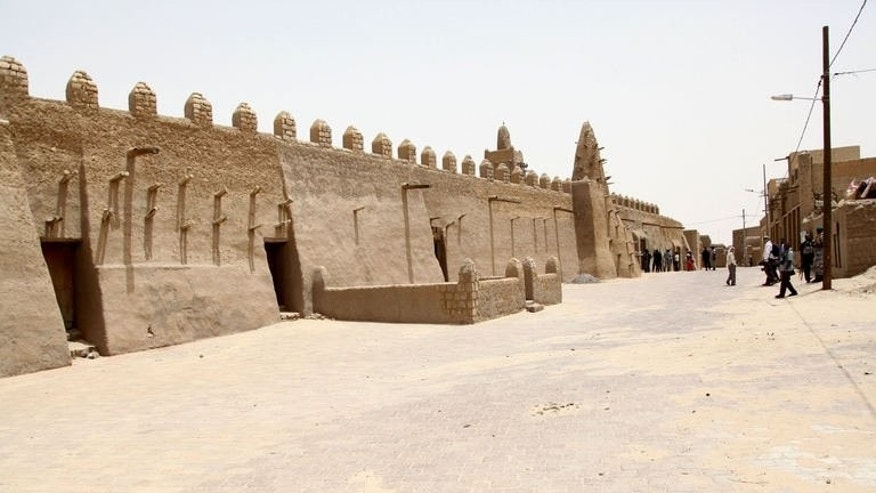 The Djinguereber mosque in Timbuktu on June 30, 2013. United Nations peacekeepers are preparing to take over from African troops in Mali with a mission to ensure stability in the conflict-scarred nation just four weeks ahead of crucial elections.