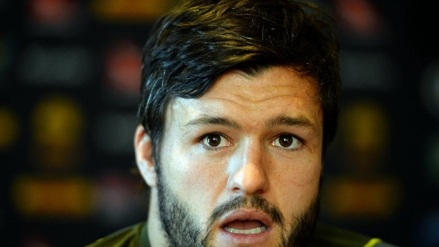 Australia's Adam Ashley-Cooper during a press conference in Sydney on July 1, 2013. Ashley-Cooper says there is more to come from the Wallabies in the deciding Test against the British and Irish Lions.