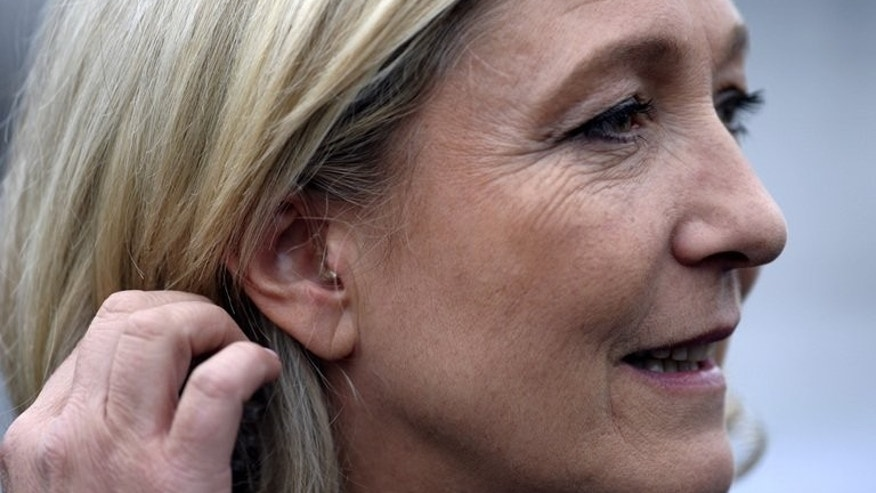 President of the French National Front party Marine Le Pen gives an interview on June 26, 2013 in Forbach, France. The European Parliament on Tuesday lifted immunity for French National Front leader Marine Le Pen, opening the way for her to face charges for likening the sight of Muslims praying in the street to Nazi occupation during World War II.