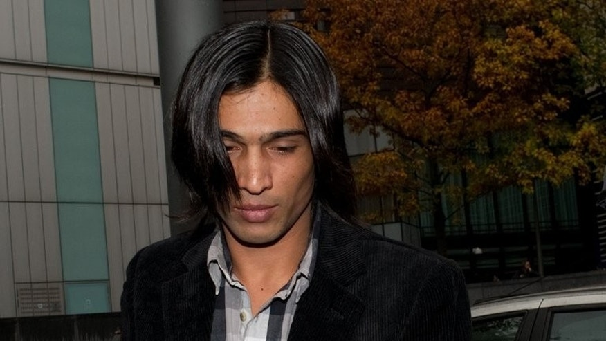 "Former Pakistani cricketer Mohammad Aamer arrives at Southwark Crown Court in London, on November 3, 2011. Aamer said he hoped to play international cricket again ""as soon as possible"" after the game's governing body said it would consider a request for his ban to be relaxed."