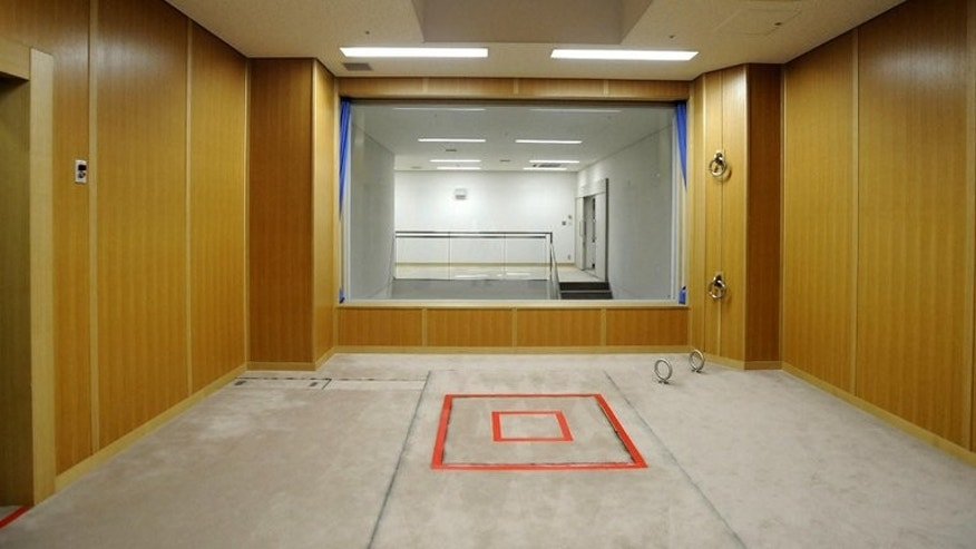 An execution room at Tokyo Detention House on August 27, 2010. Prisoners are typically notified about their impending deaths just hours before they are hanged. Their families are told only after the execution.