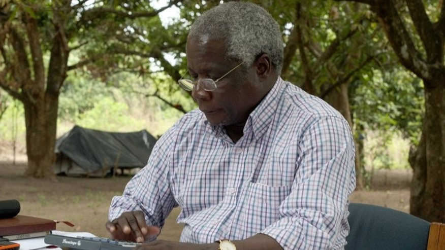 Mozambican leader of former rebel movement Renamo, Afonso Dhlakama, on November 8, 2012 at Gorongosa Mountain, Mozambique. Dhlakama said Wednesday he was prepared to leave his bush camp for talks with the government after strained relations boiled over into deadly violence this year.