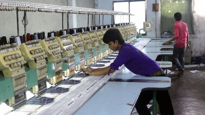 A garment factory on the outskirts of Dhaka on May 29, 2013. Only one in 10 garment factory buildings inspected by engineers from a top Bangladesh university were structurally sound, underlining the scale of safety problems for the world's second-biggest clothes producer, the head engineer said.