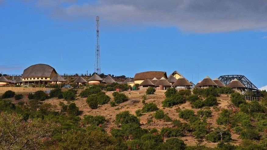 Nelson Mandela's birth village of Mvezo. Mandla Mandela is chief of the village and is overseeing large scale development.