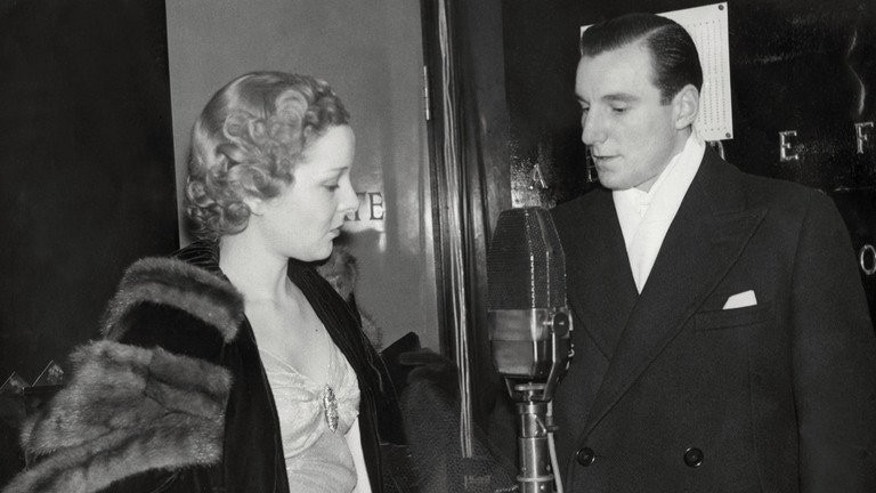 Fred Perry with his wife actress Helen Winson at an unknown location in 1936. After he headed to the United States, he renounced his British citizenship and even served in the US air force in World War II.