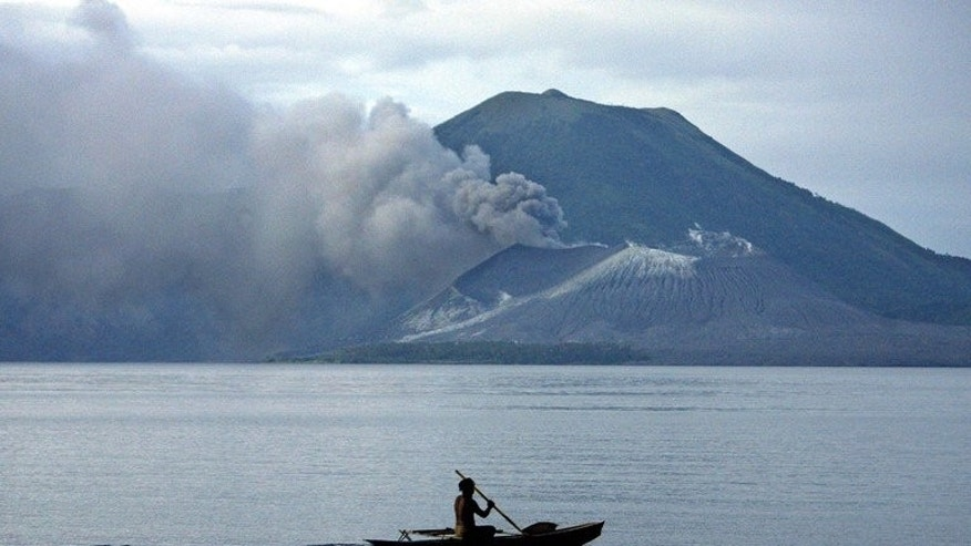 General view of Karavia Bay, in Papua New Guinea. Two big earthquakes struck Papua New Guinea early Monday but no tsunami warnings were issued and seismologists said damage was unlikely.