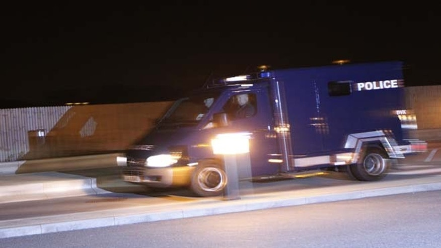 July 7, 2013: A police van carrying radical cleric Abu Qatada arrives at RAF Northolt in London for his deportation to Jordan where he faces a retrial for his alleged involvement in terrorist plots. Qatada's deportation was approved after Britain and Jordan signed a treaty agreeing that evidence obtained through torture would not be used against him at his retrial.