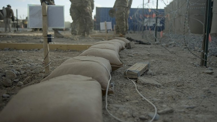 NATO troops undergo training on mine and Improvised Explosive Device (IED) detection in Kandahar province in 2012. Specialists employ the latest hi-tech equipment to fight against the IED threat, but face a difficult challenge, with the insurgents constantly re-inventing their fatal designs.