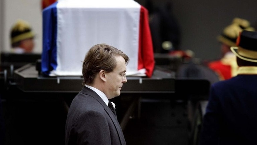 Dutch Prince Johan Friso, pictured here on December 11, 2004, has been transferred from a London hospital to receive treatment at his mother's residence in the Netherlands, the royal palace said on Tuesday.