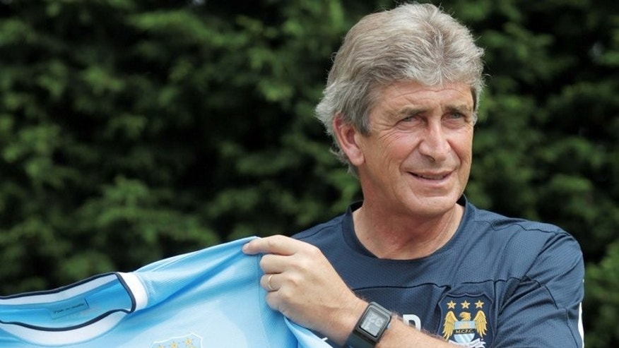 Newly appointed Manchester City manager Manuel Pellegrini on July 10, 2013. Pellegrini admits part of his remit will be to help nurture young talent and save the club spending heavily on transfer fees in the future.