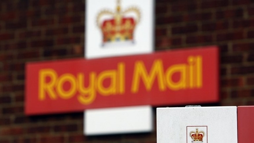 The Royal Mail delivery office in Fleet, on December 16, 2008. The government will on Wednesday flesh out controversial plans to part-privatise Royal Mail following a major restructuring to face the dominance of email.