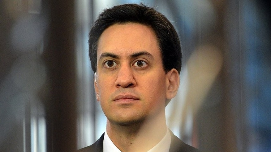 Labour Party leader Ed Miliband, pictured in Manchester, on October 3, 2012. One of Britain's biggest trade unions warned Wednesday that only a fraction of its members would opt to join Labour under changes announced by Milliband, leading to a huge drop in funding.