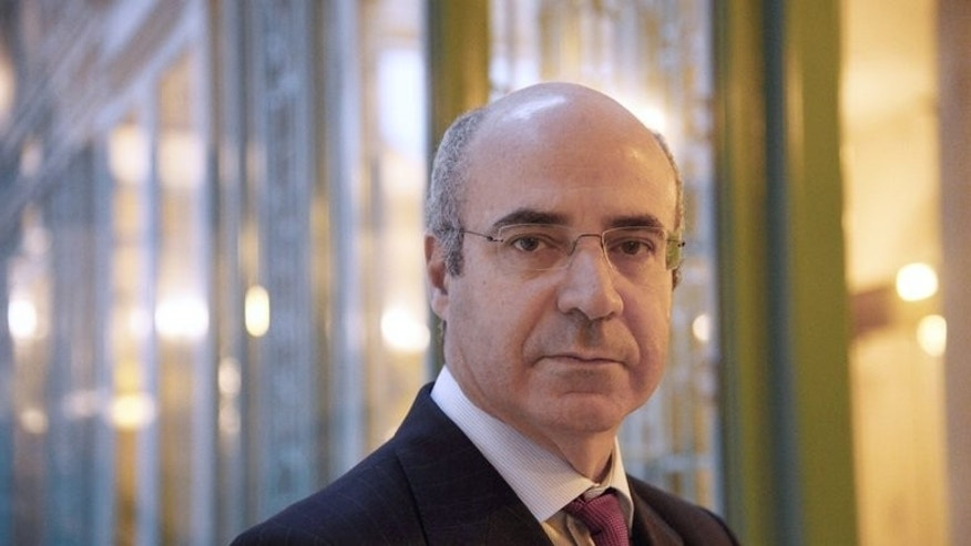 Hermitage Capital investment fund CEO William Browder poses at the Westin Vendome Hotel in Paris on February 11, 2013. A Moscow court on Thursday sentenced in absentia the US-born British investor who was the former boss of dead lawyer Sergei Magnitsky to nine years in a prison colony after being convicted of tax evasion.