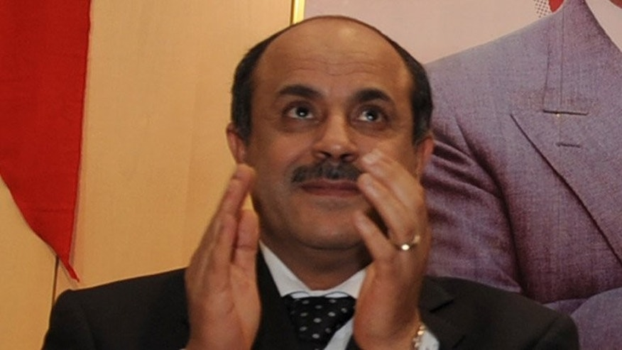 Mohamed Ghariani in Tunis in March 2010. Tunisian authorities early on Thursday released from jail Ghariani and another former figure of the toppled regime who were arrested following the 2011 uprising for abuse of power, the justice ministry said.