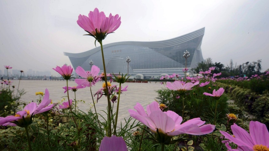 July 8, 2013 - The New Century Global Center, the worlds largest single building, stands in the suburbs of Chengdu, in southwest China's Sichuan province. The worlds largest building, in terms of floor space, has opened to the public.