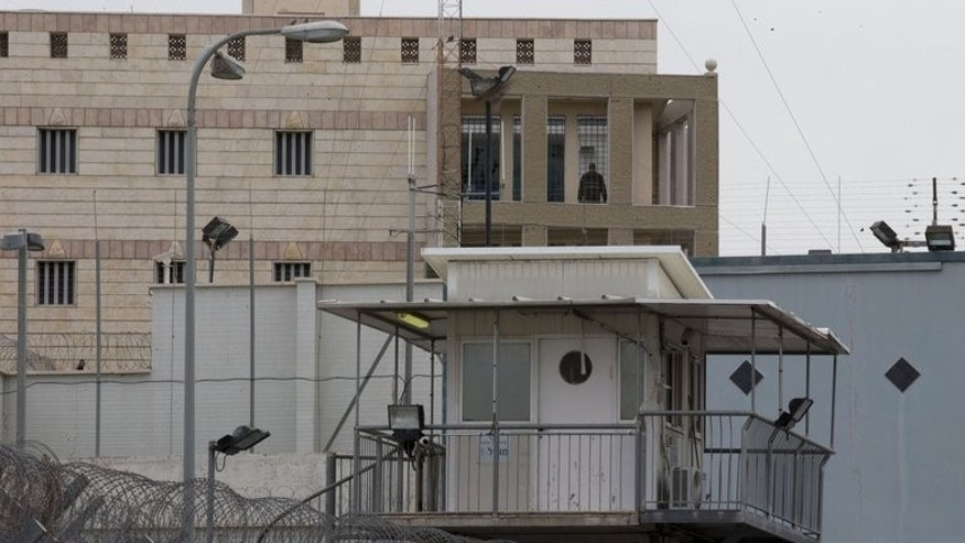 A view of Israeli Ayalon prison in Ramle near Tel Aviv on February 14, 2013. A former Israeli intelligence chief said on Saturday that authorities held a person in secret during the 1970s but implied that the prisoner was no longer in custody.