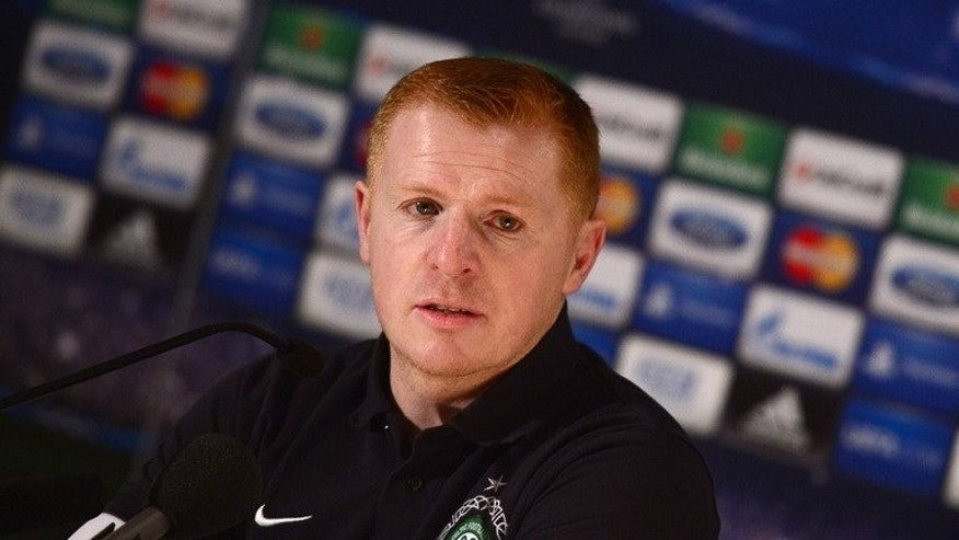 Celtic manager Neil Lennon at a press conference on March 5, 2013 in Turin. Lennon admits his side are nowhere near their best as they prepare to take on Cliftonville in a vital Champions League qualifier in Belfast on Wednesday.
