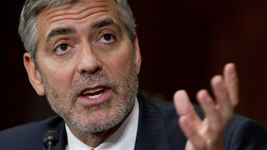 US actor George Clooney testifies on Sudan and South Sudan before the Senate Foreign Relations Committee on Capitol Hill in Washington, on March 14, 2012. Coffee maker Nespresso is to buy coffee from the poverty-wracked fledgling state of South Sudan to expand supplies from sustainable sources, brand frontman Clooney said on Tuesday.