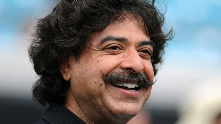 Fulham's new owner Shahid Khan at the EverBank Field in Jacksonville, Florida, on September 16, 2012. Pakistan football chiefs have urged Khan to go back to his roots and look for young talent in the South Asian country.