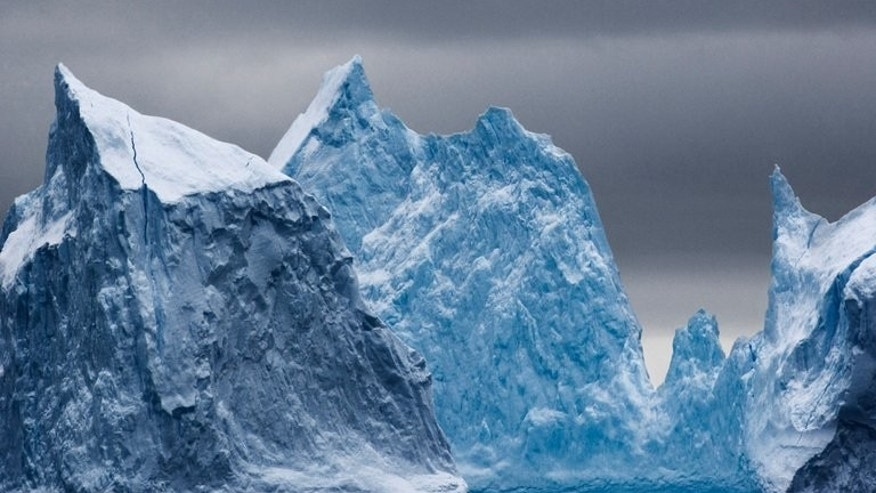 Antarctic icebergs, shown in a photo released on November 1, 2011 by the Antarctic Ocean Alliance. Russia on Tuesday blocked attempts by Western countries to create the world's largest ocean sanctuary off Antarctica, green groups said.