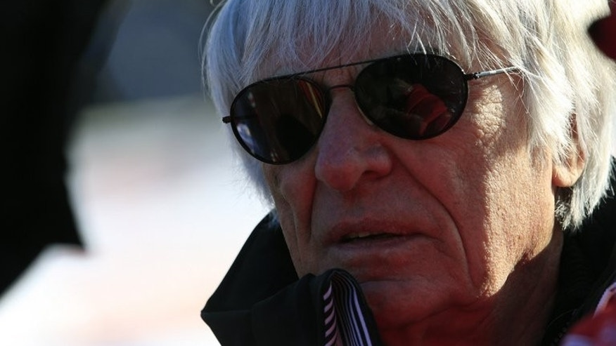 Bernie Ecclestone, pictured on January 26, 2013 in Austria, started out as a simple second-hand car salesman and went on to transform Formula One motor-racing into one of the most profitable sports the world.