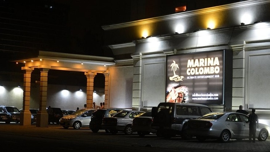 "The ""Marina Colombo casino club"" is shown in the Sri Lankan capital on July 5, 2013. Multi-million-dollar casinos planned for Colombo have boosted Sri Lanka's ambitious hopes of becoming Asia's new gambling hotspot, but the projects still face political and religious opposition."