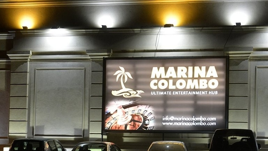 The Marina Colombo casino club in the Sri Lankan capital on July 5, 2013. Sri Lanka legalised gambling in November 2010, with the aim of eventually luring cashed-up tourists to the island nation and boosting an economy battered by decades of ethnic war.
