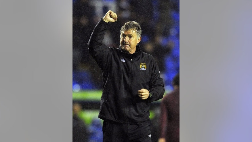 Man City's assistant manager, Brian Kidd, pictured in Reading, England, on May 14, 2013. Manager Manuel Pellegrini could rejoin the squad in Hong Kong on Tuesday according to Kidd. Pellegrini left City's pre-season training camp in S.Africa and returned to his homeland of Chile due to a personal issue, leaving Kidd in charge for Thursday's 2-1 defeat in a pre-season friendly against AmaZula.