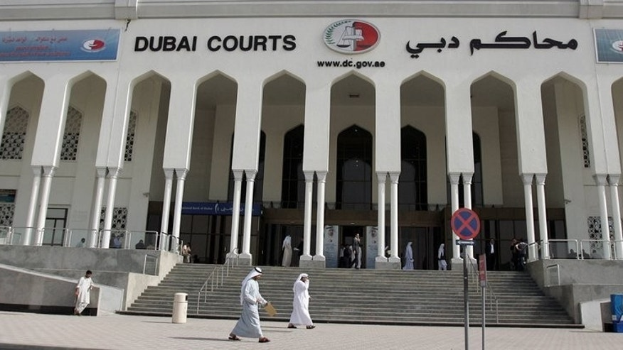 A general view shows the Dubai courts on February 17, 2008. Three Britons convicted on drugs charges in Dubai, who claimed they were tortured in prison, have been freed in an amnesty, diplomatic sources in London say.