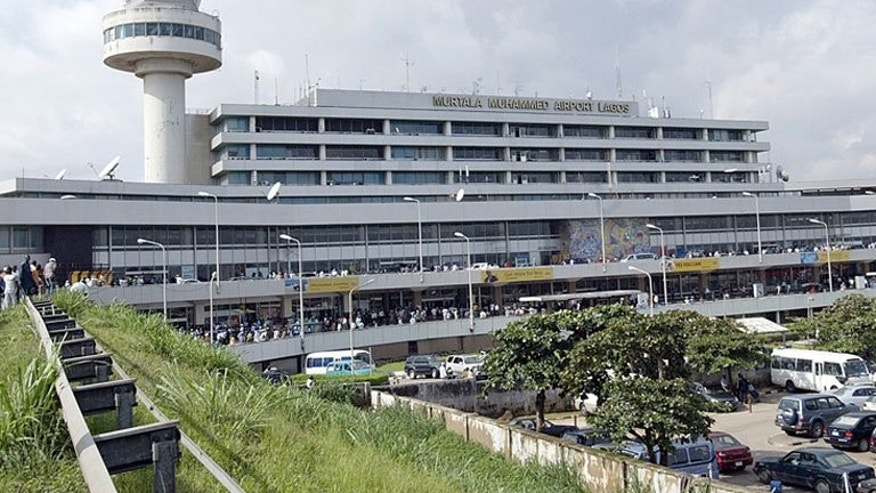 The Murtala Muhammed International Airport in Lagos, pictured on September 11, 2007. A British citizen who was kidnapped by gunmen shortly after landing at the airport has been released, an official said.