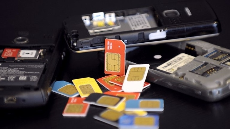 A collection of phones and sim cards that a French criminal gang used to access security codes. Police find it hard to compete with international crime syndicates who rake in $870 billion a year via activities from drug trading and human trafficking to identity theft, a top UN official has warned.