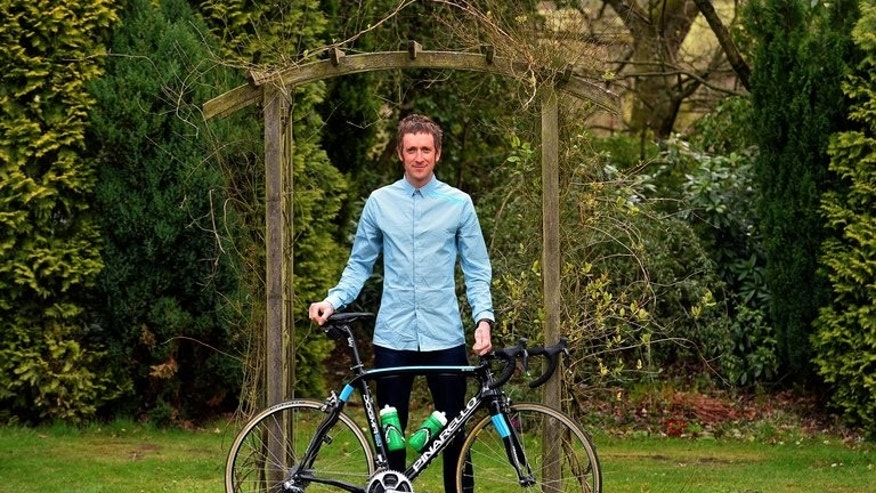 Bradley Wiggins pictured in Standish, north-west England, on April 29. The former Tour de France winner will return to action for Team Sky in this week's Tour of Poland.