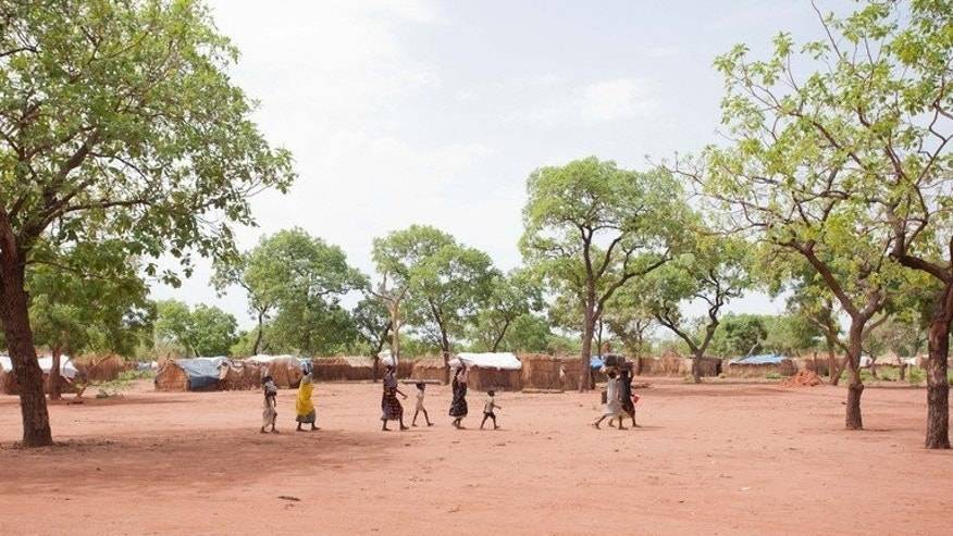 Refugees from the Numba Mountains settle into a camp in Yida, Unity State, South Sudan on May 31 2012. Nine children have been killed by an unexploded grenade blast in Sudan's South Kordofan, a website based in the war-torn region says.