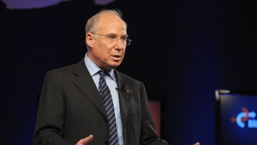 Jacob Frenkel, who withdrew his nomination from the Bank of Israel's top job, speaks at the World Economic Forum in Davos on January 27, 2010. The withdrawal of a second nominee in a week for the Bank of Israel's top job has filled newspapers with speculation over the cause, ranging from astrology to sexual harassment.